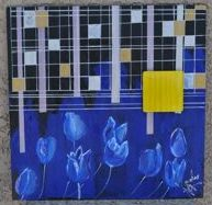 study of blue tulips 2